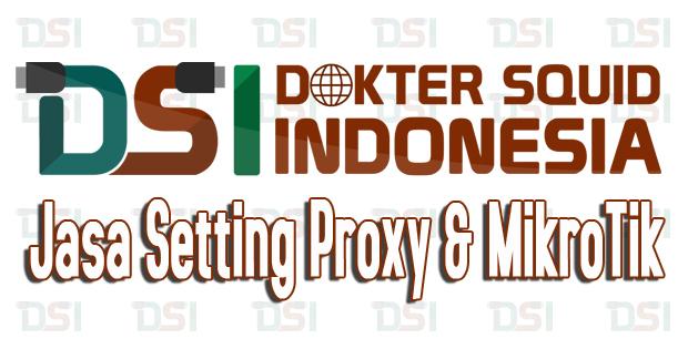Jasa Setting Proxy, Jasa Setting MikroTik, Dokter Squid