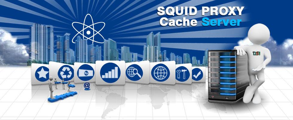 Jasa Setting Proxy Server - Squid3