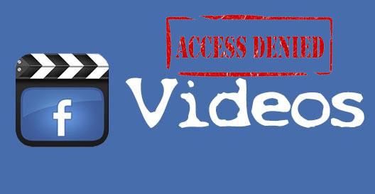 blokir video facebook - image