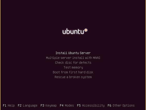 instalasi ubuntu server 16-04-2