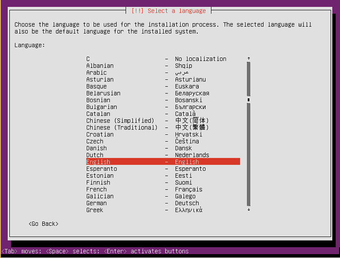 instalasi ubuntu server 16-04-3
