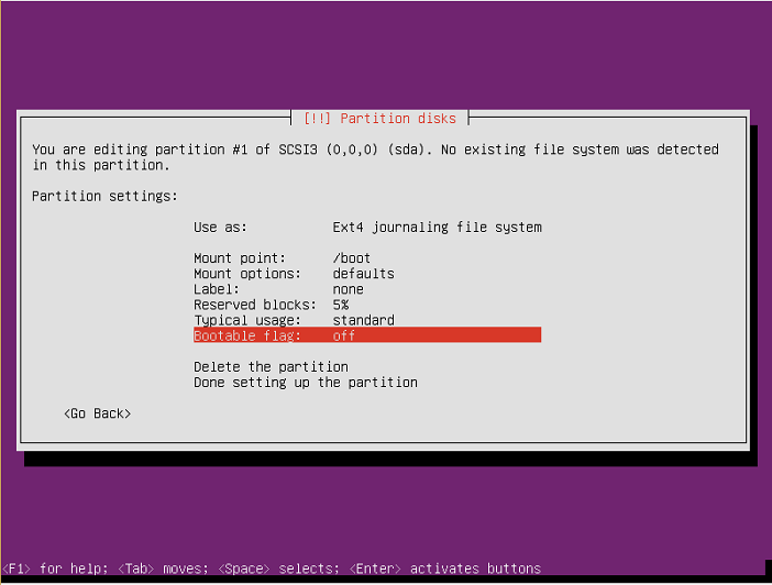 instalasi ubuntu server 16-04-36