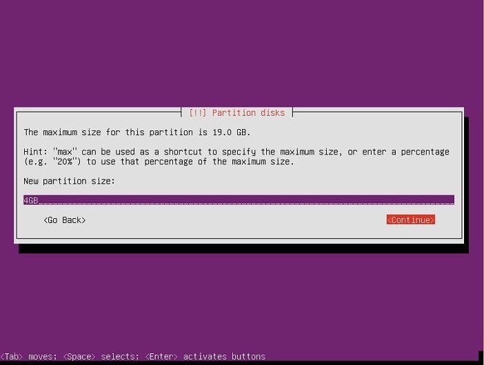instalasi ubuntu server 16-04-40