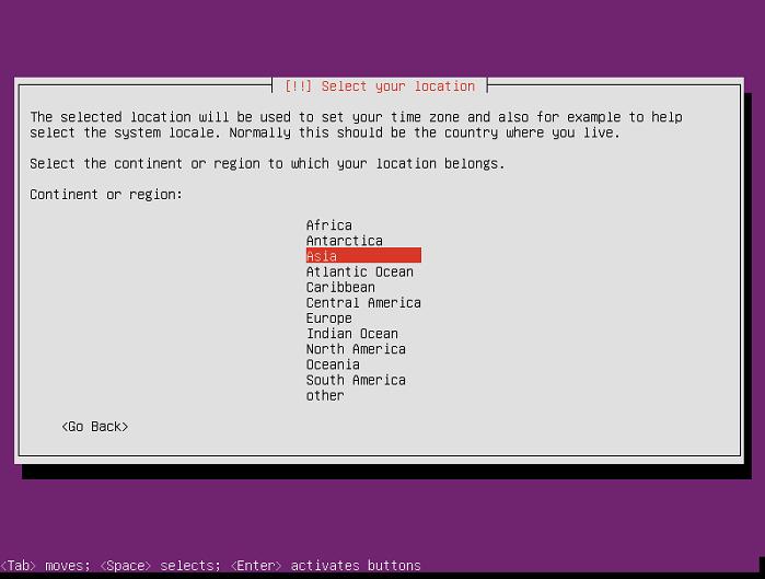 instalasi ubuntu server 16-04-5