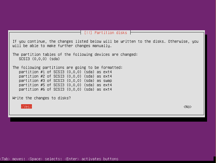instalasi ubuntu server 16-04-60